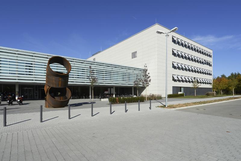 entrance of mathematics department of FAU